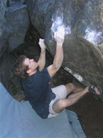 Rock Climbing Photo: Sean Brady on Snake Pit Credit Chris Summit
