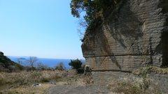 Rock Climbing Photo: Back side of the Yushima Rock Garden area.