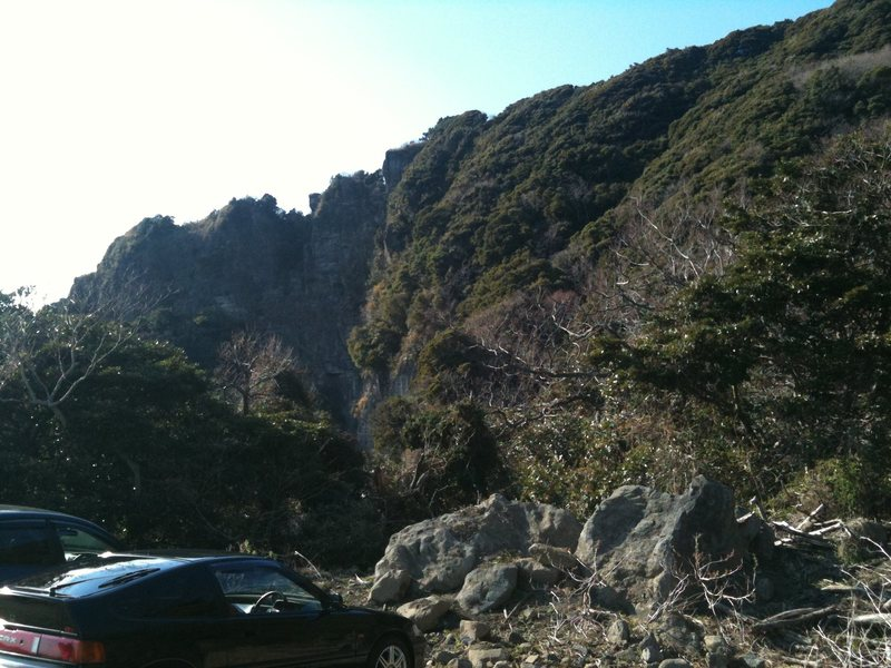 Rock Climbing Photo: Parking area.
