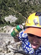 Rock Climbing Photo: Summit beverages!  Climb in style!