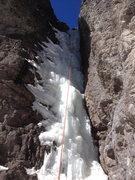 Rock Climbing Photo: Second pitch.