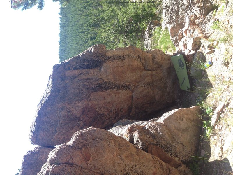 Easy climb def a fun one