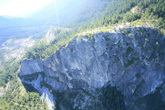 Rock Climbing Photo: A view of The Leap from the air