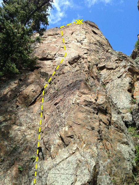 Rock Climbing Photo: Tweakin the Genie