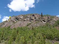 Rock Climbing Photo: This is the left most climb at the crag.