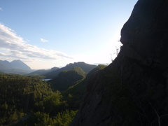 Rock Climbing Photo: Another spectacular view of the Matanuska Valley.