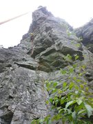 Rock Climbing Photo: I believe this to be an accurate topo. Just up and...