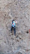 Rock Climbing Photo: A climber enjoying shaded pockets on the Acme TR W...