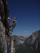 Brian Delaney on the East Buttress of El Cap