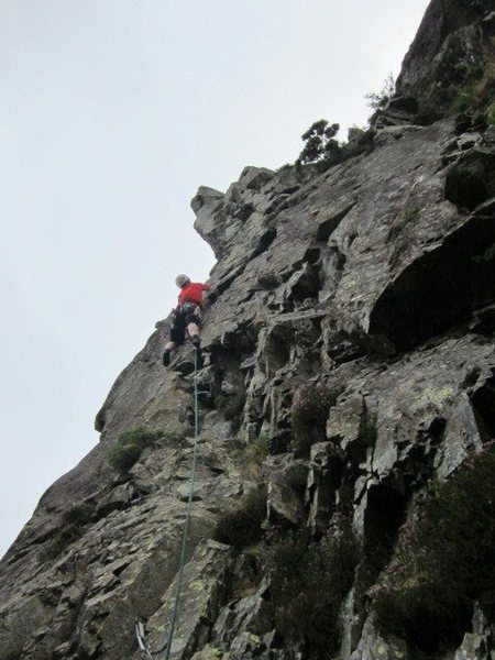Rock Climbing Photo: Andy Ross on P3 2014