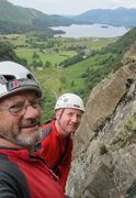 Rock Climbing Photo: Paul and Andy Ross on Super Direct 2014 . 60 years...