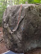 Rock Climbing Photo: In an attempt to provide clarity about this route,...