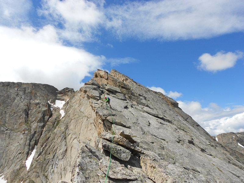 Rock Climbing Photo: J. Stiles.