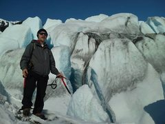 Rock Climbing Photo: Mendenhall Glacier