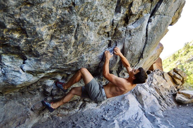 Rock Climbing Photo: Ben on Breashear's Crack.