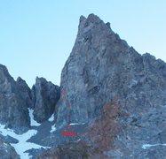 Rock Climbing Photo: Direct Start