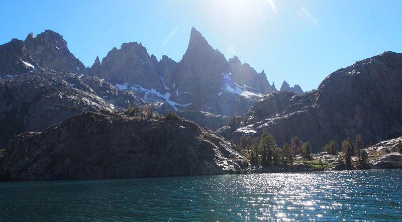 Passing Minaret Lake