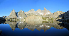 Rock Climbing Photo: Minaret Lake.