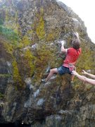 Rock Climbing Photo: There's not enough photos of this problem on Mount...