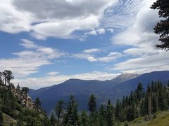 Rock Climbing Photo: Mt. San Gorgonio from the Skyline Trail (2N10), Sa...