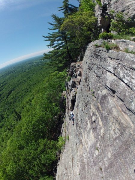 Rock Climbing Photo: 1st pitch of Limelight