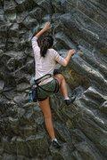 "Rock Climbing Photo: in Panama at ""El Gunko"" in Boquete"