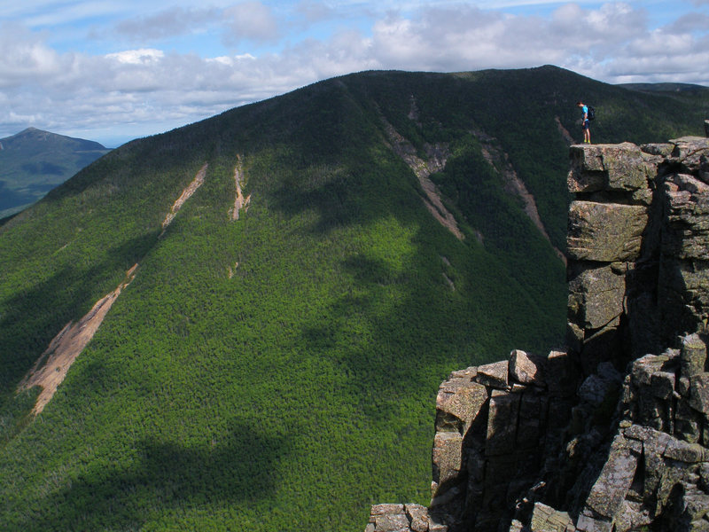 Rock Climbing Photo: Bondcliff