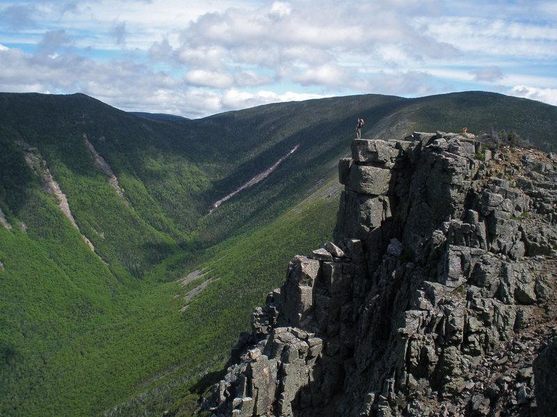 Bondcliff (4,698 ft.) - Pemigewasset Wilderness<br>