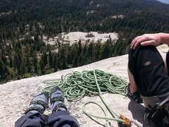 Rock Climbing Photo: Shuteye outside of Yosemite