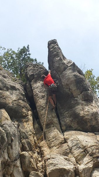 Devils Crack! What an Amazing route!