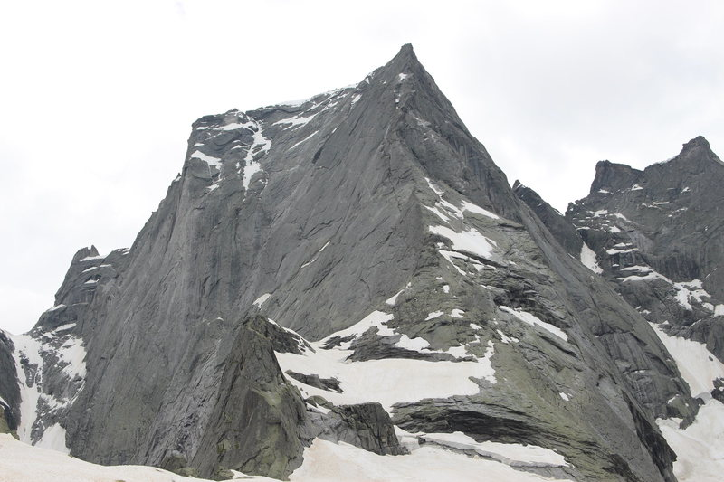 Piz Badile conditions June 24th, 2014
