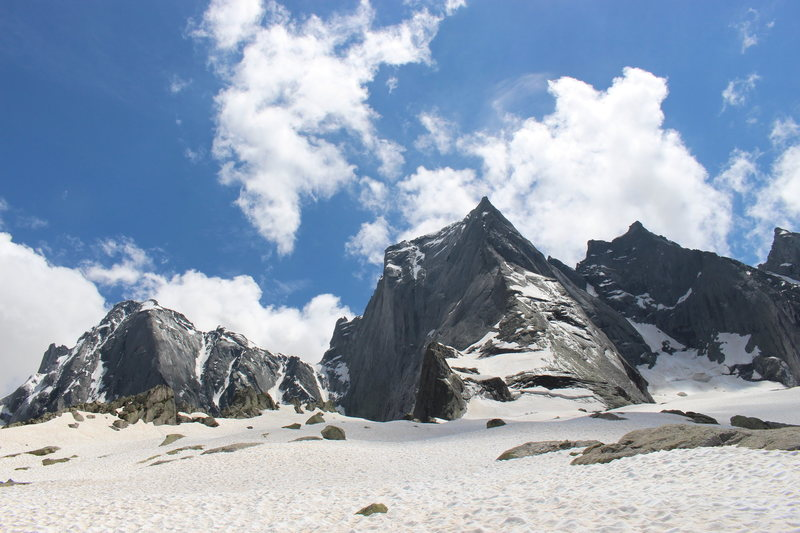 Rock Climbing Photo: Piz Badile conditions June 24th, 2014