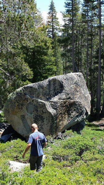 Rock Climbing Photo: Plan B Boulder