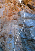 Rock Climbing Photo: Perskindol is long, steep, and much better than it...