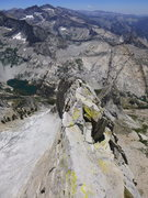 Rock Climbing Photo: near the end of the ridge