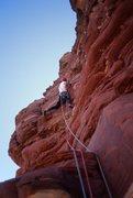 Rock Climbing Photo: RalphE, pitch 4