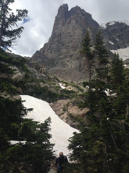 Rock Climbing Photo: Hiking out after the Spriral Route on Notchtop in ...