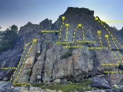 Rock Climbing Photo: Detox Wall