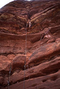 Rock Climbing Photo: Stu Ritchie, pitch 1.