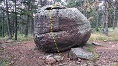 Rock Climbing Photo: North Side.