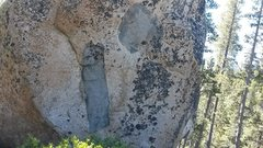 Rock Climbing Photo: Plan B this xenolith reminded me of the old skateb...