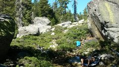 Rock Climbing Photo: Little Island Lake Boulders a good place to chill!...