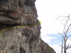 Rock Climbing Photo: Smile if you like offwideth.