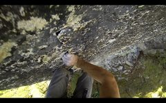 Rock Climbing Photo: Another route on the North Side of Overflow Dome. ...