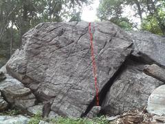 Rock Climbing Photo: cheatstone wall