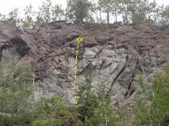 Rock Climbing Photo: Start left of the boulder.