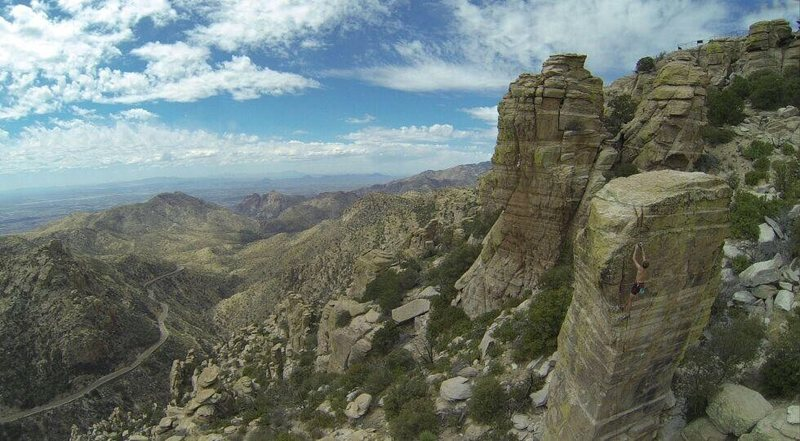 Rock Climbing Photo: Mt Lemmon