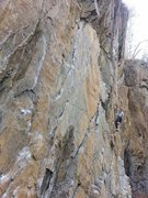 Rock Climbing Photo: Utilizing the mono