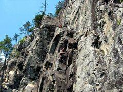 Rock Climbing Photo: Montagne du Tranchant, Québec, Canada
