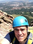 Rock Climbing Photo: First Flatiron - Direct Route